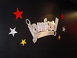 jamfest cheer and dance sign and signs by tony viscardi