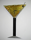 martini clock in martinin design